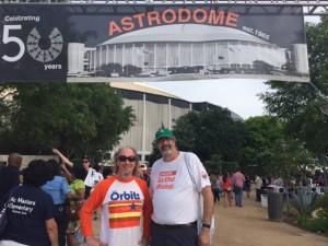 Bill and Stig Dome