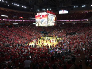 Rockets Playoff Win!
