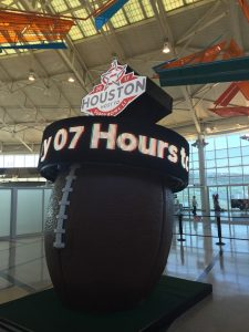 Super Bowl at Hobby Airport
