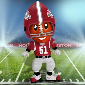 TD the Super Bowl Mascot